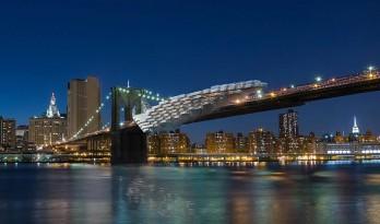 """布鲁克林""""悬崖"""":可居住的桥梁 / Daniel Gillen"""