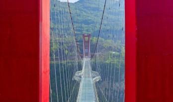 苍宇镜廊,湟川三峡擎天玻璃桥 / 浙江大学建筑设计研究院