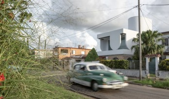 "哈瓦那""U""字屋 / Albor Arquitectos"