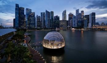 苹果新加坡滨海湾金沙旗舰店 / 福斯特建筑事务所