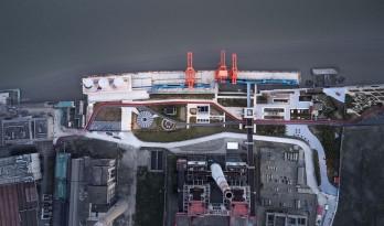 上海杨树浦电厂遗迹公园 / 同济原作设计工作室