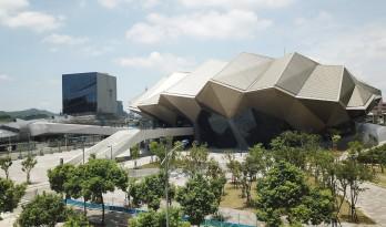 灵感源于流动的晶体几何形状——台北音乐中心 / RUR Architecture DPC