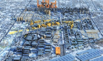 """""""工业遗产转型复兴""""——邯钢片区城市设计国际大师邀请赛一等奖作品方案"""