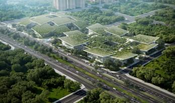 BIG公布特斯联科技AI CITY重庆项目设计方案