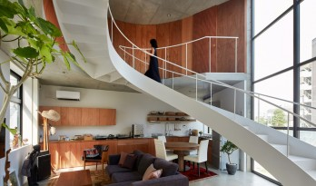 "Stir住宅,城市的""旋转楼梯"" / Ryu Mitarai & Associates, Architects"