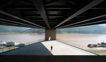 重庆云阳滨江绿道游客服务中心 / 大舍建筑设计事务所