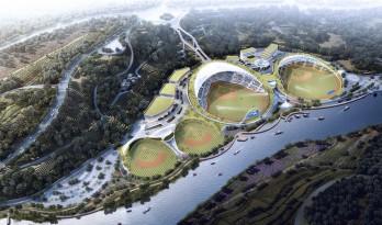 云南省腾冲市国际棒球运动公园 / 深圳中海世纪建筑设计有限公司