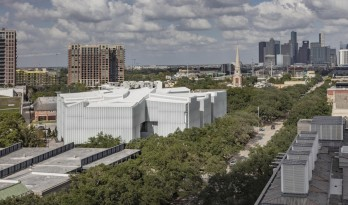 休斯顿艺术博物馆新翼 / 斯蒂文·霍尔建筑事务所