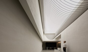 ANBONG HOME 艺术涂料展厅 / 艾克建筑设计