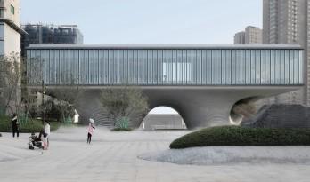 漂浮之门——西安沣东新城莱安社区中心 / EID Architecture
