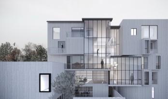 福建龙岩B&B MIX私人住宅 混合型住宅设计记 / 上海垒空间与建筑设计工作室