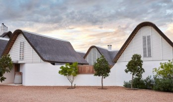 南非乡村度假屋,乡土粗野主义  / Bert Pepler Architects