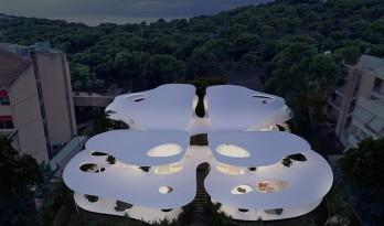 来自自然的蝴蝶型住宅 | 314建筑工作室