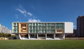 秩序的启迪——上海市高安路第一小学华展校区 / 山水秀建筑事务所