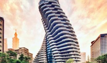 陶朱隐园,反全球变暖+低碳生态住宅 / Vincent Callebaut Architectures