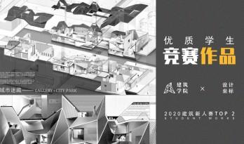 """2020建筑新人赛TOP 2   学院派""""教科书'级别的折板屋面美术馆"""