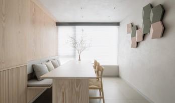 城市度假屋——一个让身心安宁的家 / LUKSTUDIO芝作室