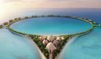 """福斯特合伙人事务所将为沙特打造红海上的""""戒指""""酒店"""