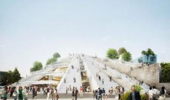 """MVRDV""""地拉那金字塔""""正式动工,阿尔巴尼亚粗野主义纪念碑改造"""