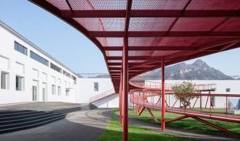 北京服装厂改造项目——少年儿童活动中心 / REDe Architects+末广建筑