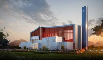 石嘴山市综合垃圾处置项目 / 中国航空规划设计研究总院有限公司·市政工程设计研究院