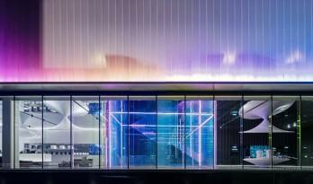 地铁上盖,苏荷汇生活艺术馆,演绎都市月光宝盒 / BA蓝城设计