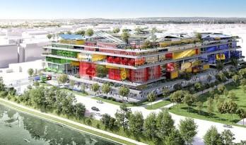 """让·努维尔为新一代巴黎人打造了充满活力的新型社区""""Jeuneville"""""""