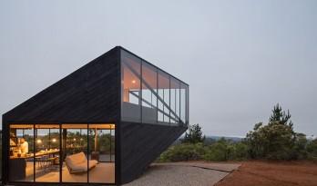 智利 Prebarco 住宅,海边悬浮之船 / 2DM