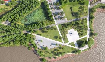 江阴市滨江公园 中国,江苏 / BAU建筑与城市设计事务所