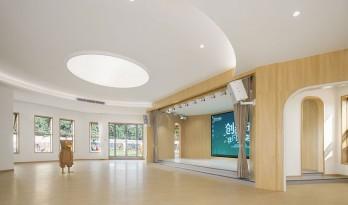 冠萃国际幼儿园,开放式儿童探索教学空间 / VMDPE圆道设计