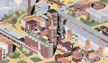 """同济建筑""""改造天团""""重塑工业遗迹:上海水泥厂惊艳蜕变,锦绣长卷尽秀毕设盛宴!"""
