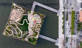 鬼才建筑师Heatherwick新作:哈德逊河小岛公园/Heatherwick studio