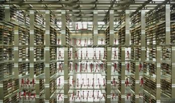 """被誉为""""21世纪最先进的建筑之一"""":墨西哥何塞巴斯孔塞洛斯图书馆"""