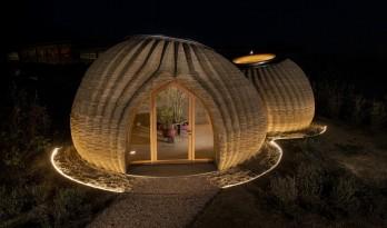 全球首个全生土3D打印可持续住宅竣工/MC A建筑事务所