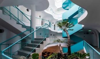 如果,建筑是海浪:Le Bouton酒店/D1 Architectural Studio