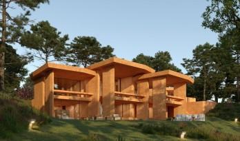 普奖得主RCR Architectes的度假区方案