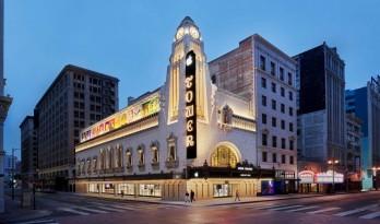 洛杉矶苹果零售中心:Theatre Tower/ Foster + Partners