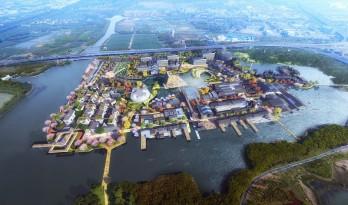 苏州青苔中日工业设计村,再度打造滨水新地标/SPARK思邦