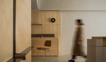 100平米的日系办公室/杭州喜叻空间研究