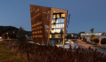 可持续性建筑- Telemark 能源厂 / Snøhetta