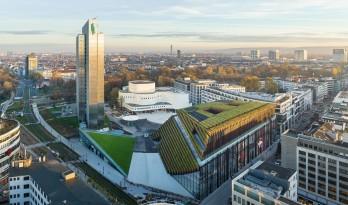 欧洲最大的绿色立面建筑 Kö-BogenII 商业综合体 / ingenhoven architects