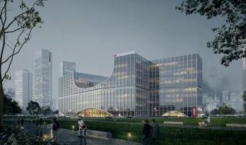 城市与河岸之间的健康客厅--沪东区域医疗中心/LEMANARC瑞士瑞盟设计