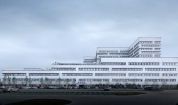 瑞士瑞盟遇见苏州园林-苏州独墅湖医院/LEMANARC瑞士瑞盟设计