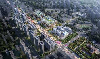 10 Design 设计的南京大校场金陵华夏中心总体规划方案公示完成