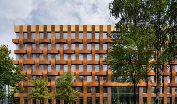 Ferrum 1 办公大楼 / Tchoban Voss Architekten