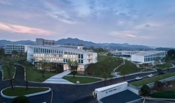 顺势而为的空间赋形,浙江建德空港航空产学研基地/gad杰地设计