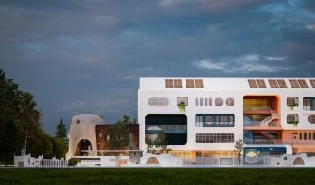 安徽·舒城「水滴幼儿园」 —— 水生万物,复归于水 / 迪卡建筑设计中心