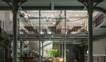工业建筑如何改造为泰式茶餐厅? / 三厘社triostudio