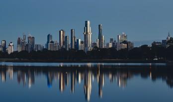 Australia 108住宅塔楼,墨尔本 / Fender Katsalidis