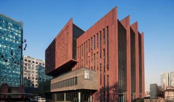 人民美术出版社新址 / 中国建筑科学研究院